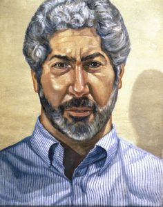 1995 Portrait of Richard Shabaro Oil on Canvas 24 x 30