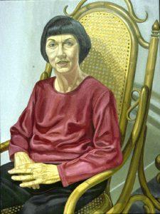 1998 Portrait of Francis Klagshorn Oil 48 x 36