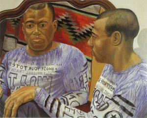 2000 Portrait Ron Anderson Oil on canvas 32 x 40