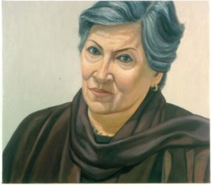 2001 Portrait of Betsy Oil 26 x 30
