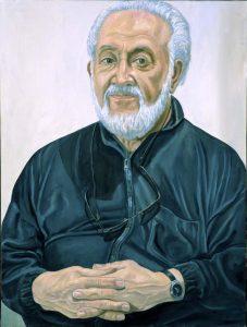 2005 Portrait of Mitch Leigh Oil 48 x 36