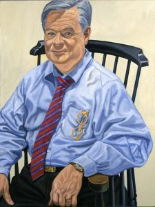 2006 Portrait of Jim Dicke II Oil on canvas 48 x 36