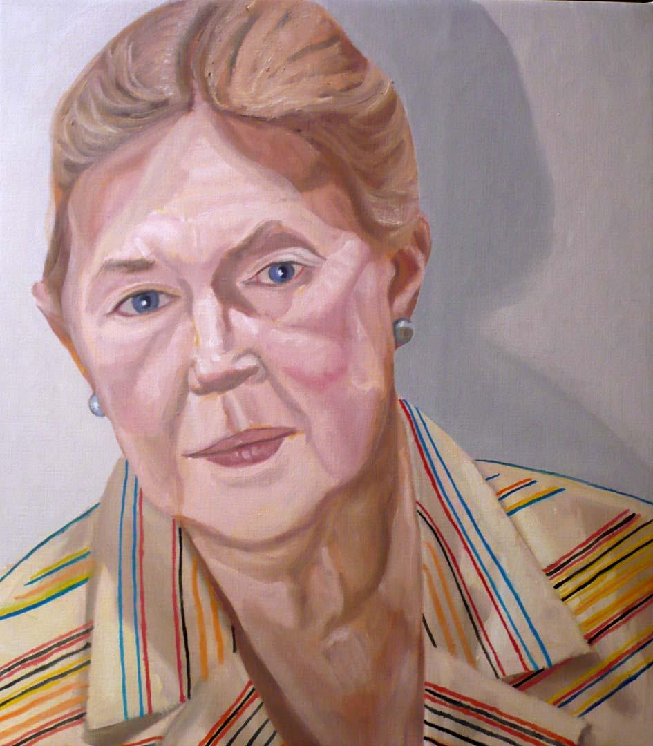 2008 Lucy Sandler Oil on Canvas 25 x 22