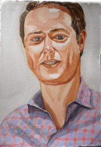 2008 Max Dempsey Watercolor 22.75 x 16