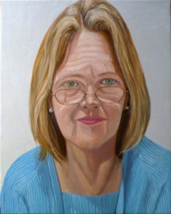 2008 Portrait of Betty Cuningham Oil Dimensions Unknown