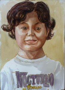 2009 Adrian Vecchio (Artist's Grandson) Watercolor Dimensions Unknown