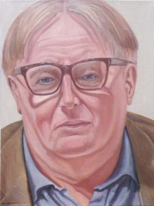 2009 Portrait of Niel Smith Oil 24 x 18
