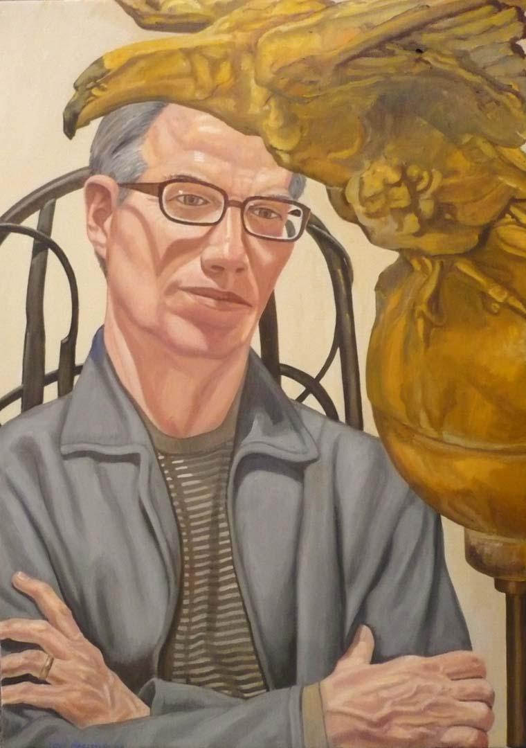 2009 Portrait of Patterson Sims Oil Dimensions Unknown