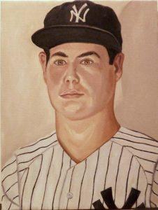 2010 Portrait of David Oil on canvas 24 x 18