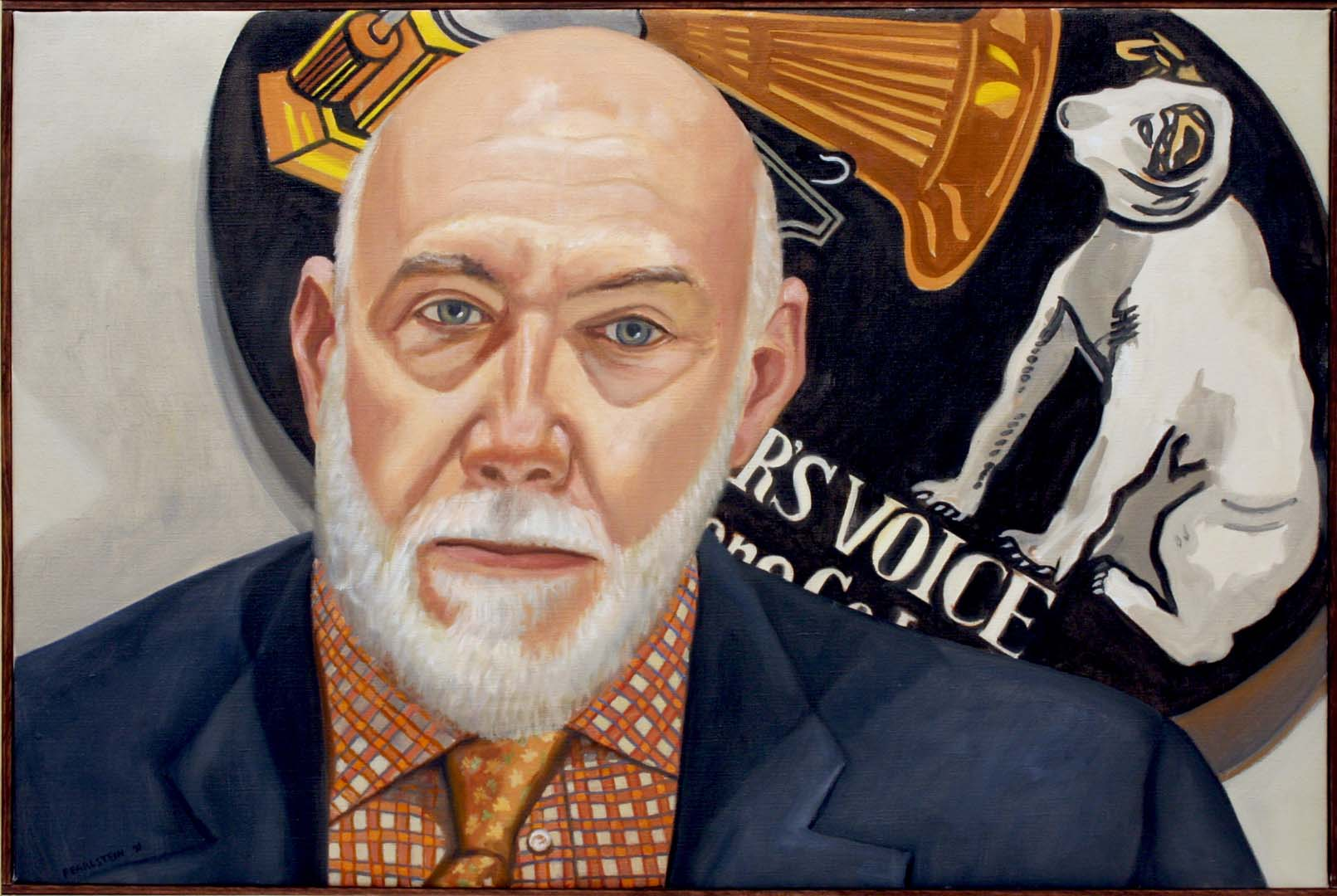 2010 Portrait of Richard Armstrong Oil on canvas 20 x 30