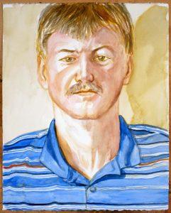 2012 Brendan O'Reilly Watercolor 16.125 x 20.125