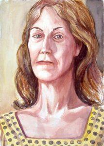 2012 Donna Beebe Watercolor 20 x 14.125