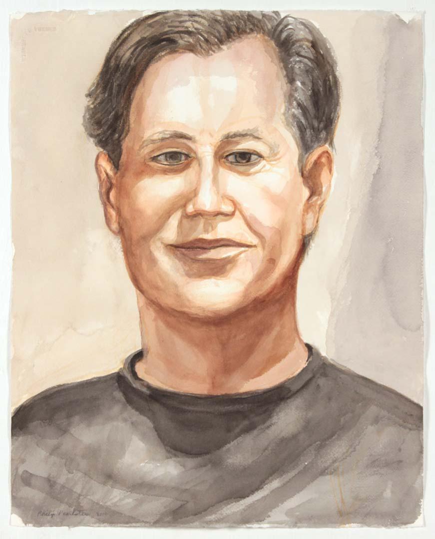 2014 Chris Kass Watercolor 20.25 x 16.25