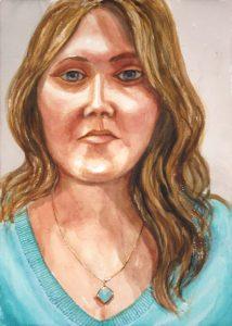 2014 Jessica Kitz Watercolor 20 x 14