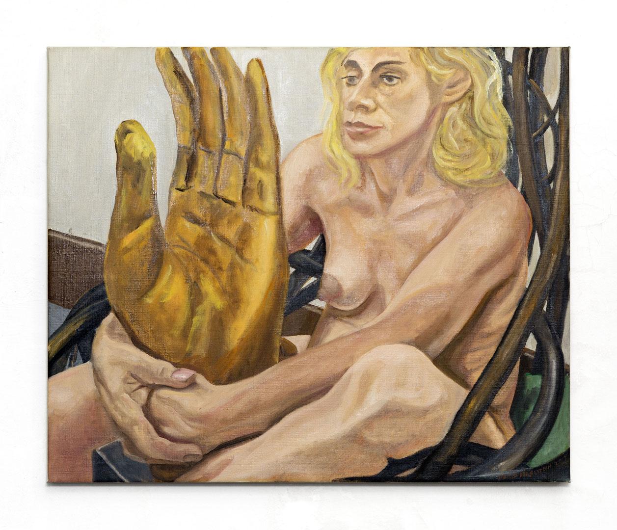 Portrait of Jan Stein, Oil on Canvas, 24 x 20